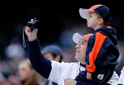 Oakland Athletics v Detroit Tigers - Game One