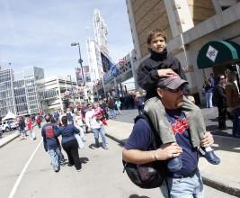 Texas Rangers v Cleveland Indians